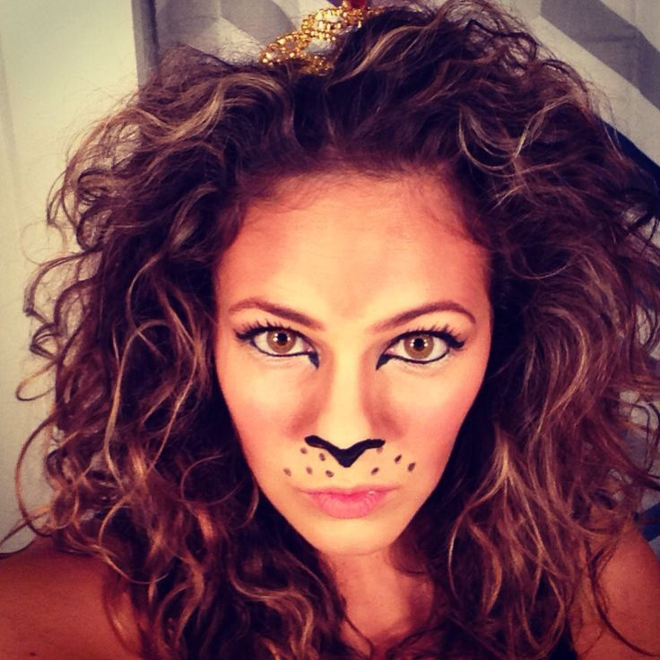 25 Lion Halloween Makeup Inspiration to Try | Lion face paint ...