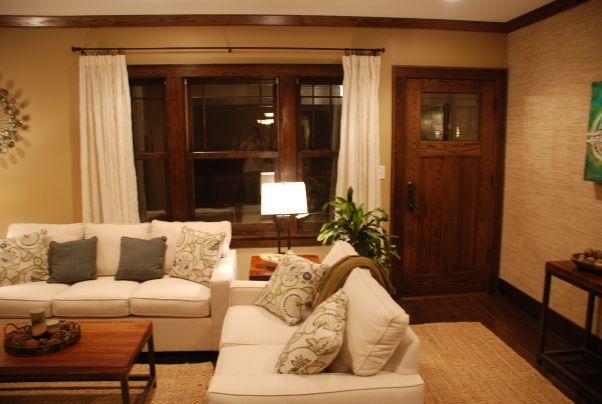 Modern Updates To A 1915 Craftsman   Living Room Designs   Decorating Ideas    HGTV Rate