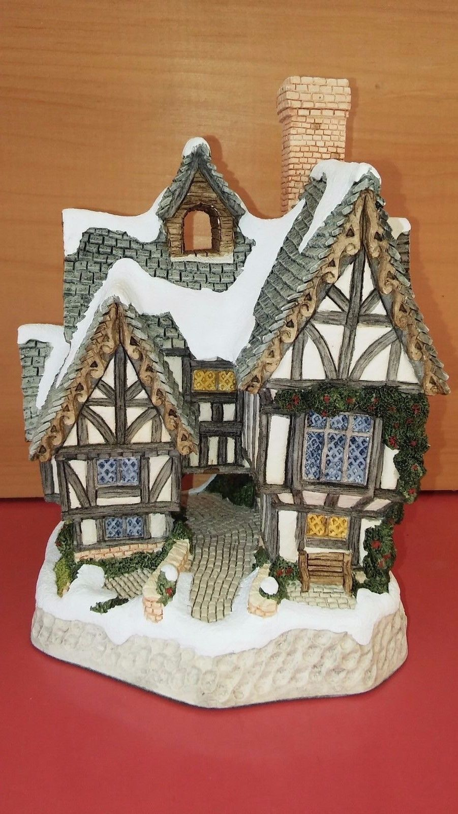 David Winter Cottages Scrooge S School Christmas Special 1992 W Box Coa Ebay Christmas Special Cottage Christmas