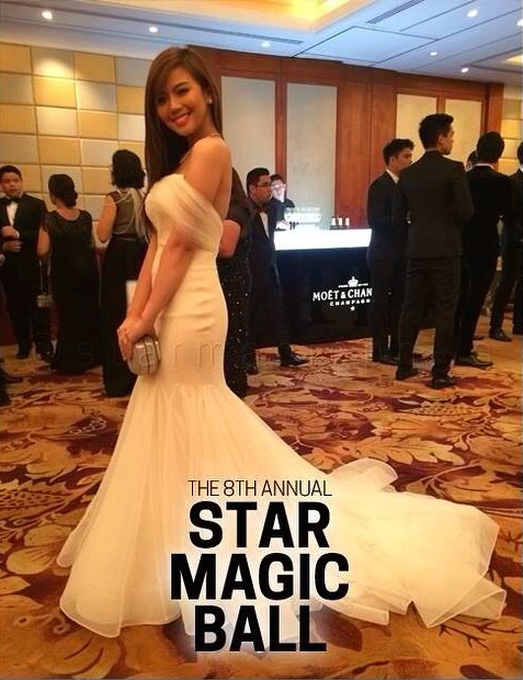 Miles Ocampo 8th Star Magic Ball Dress | Things to Wear | Pinterest