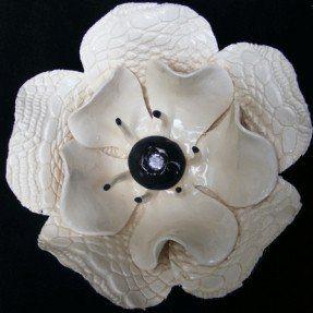 Ceramic Flower Wall Art - Foter