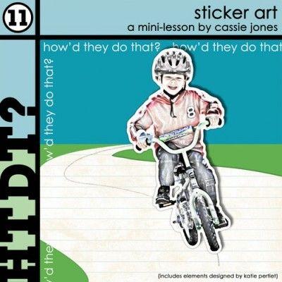 DesignerDigitals - sticker art