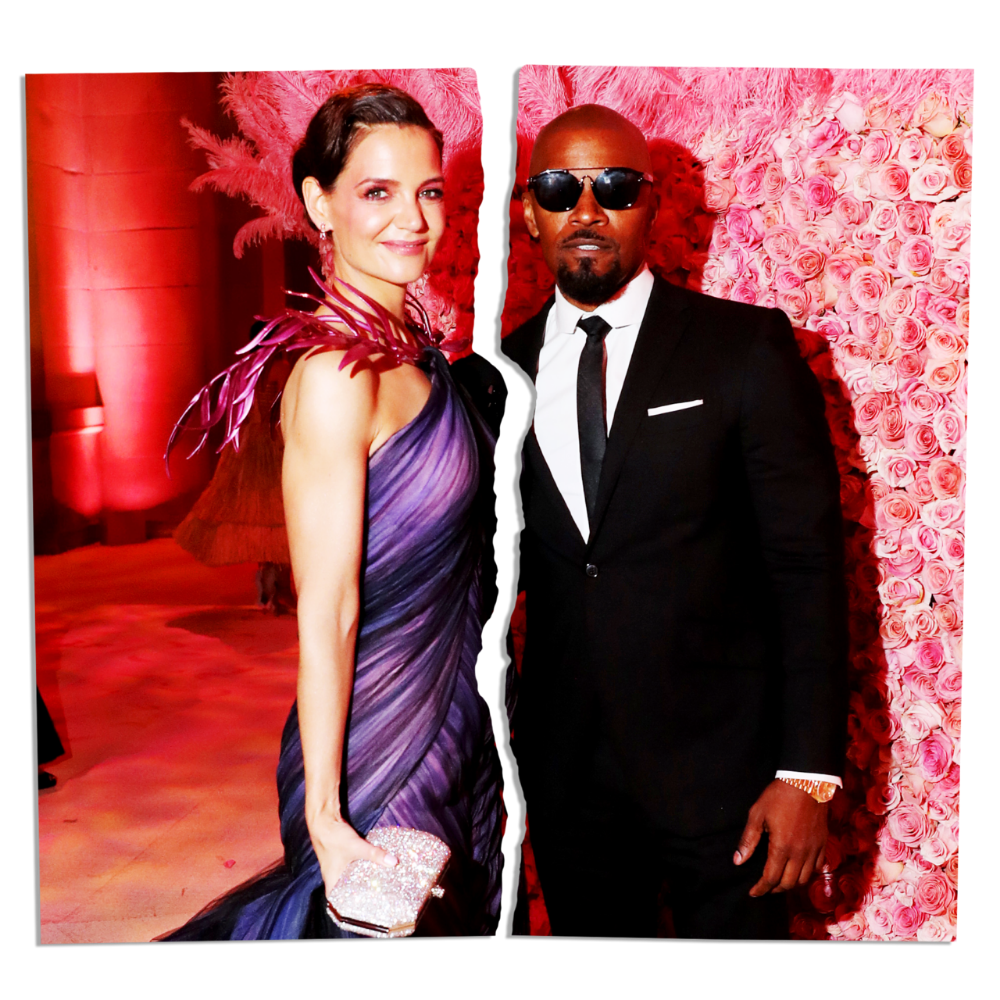 Jamie Foxx And Katie Holmes Ended As They Began In Impressive Privacy Katie Holmes Celebrities Celebs