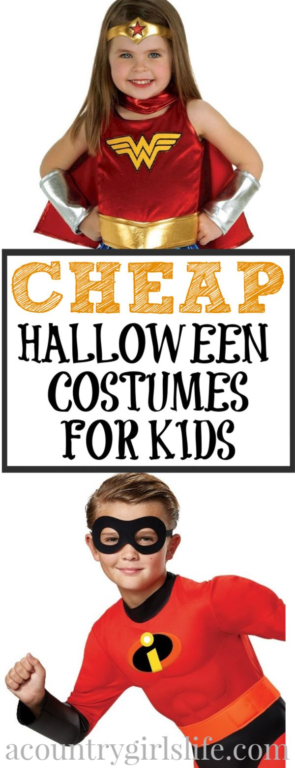 Best kids halloween costumes on a budget no diy required a