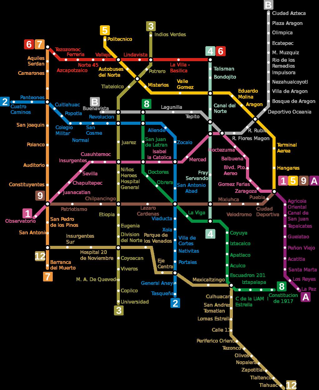 Metro De Ciudad De Mexico Cdmx Con Imagenes Metro Ciudad De Mexico