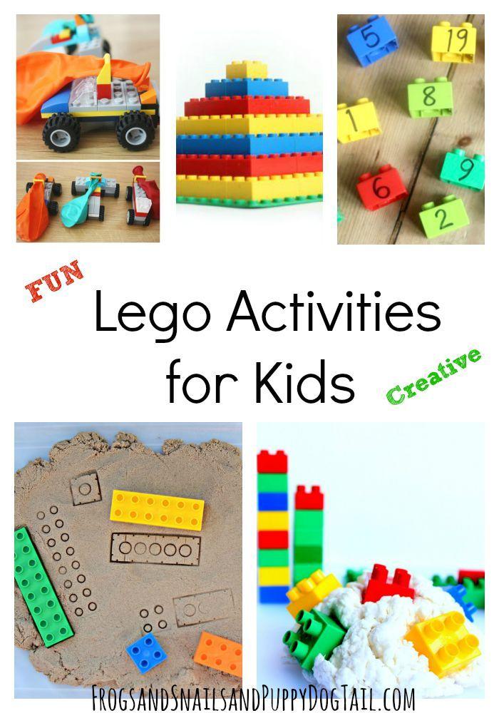 Fun Lego Activities for Kids | Lego activities, Activities ...