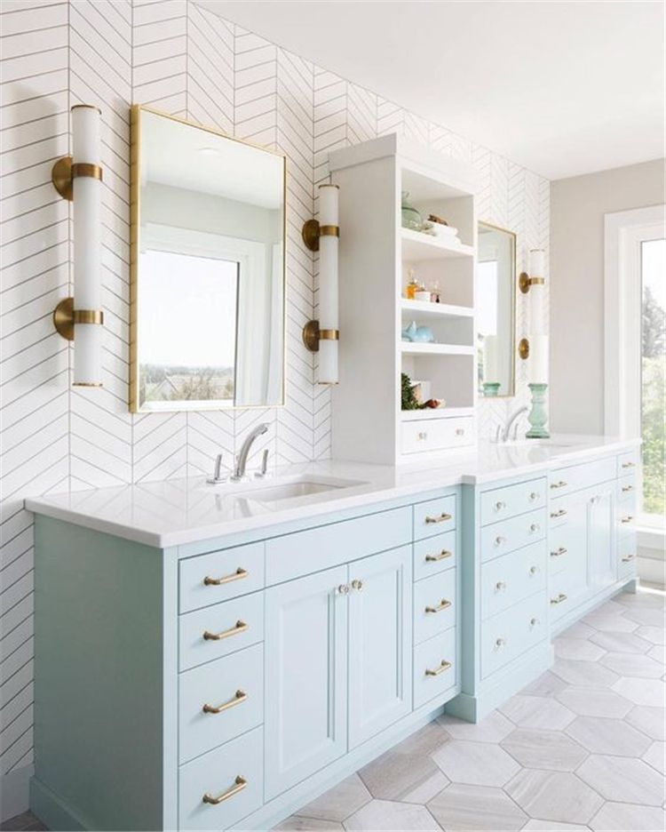 Most Current Absolutely Free Blue Bathroom Cabinets Strategies Bathroom Interior Small Bathroom Remodel Bathrooms Remodel