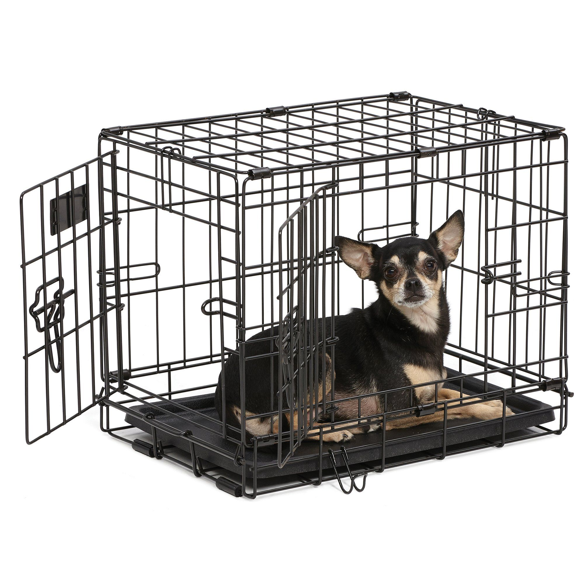 Midwest Icrate Double Door Folding Dog Crate 42 L X 28 W X 30