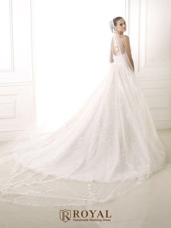 板橋蘿亞手工婚紗 Royal handmade wedding dress 婚紗攝影 購買婚紗 單租婚紗 西班牙 Pronovias BASIRA
