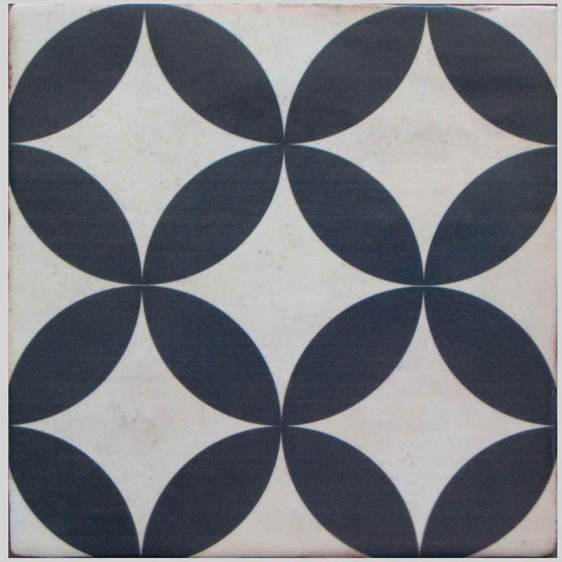 Carrelage imitation carreau ciment sol et mur 20 x 20 cm ...