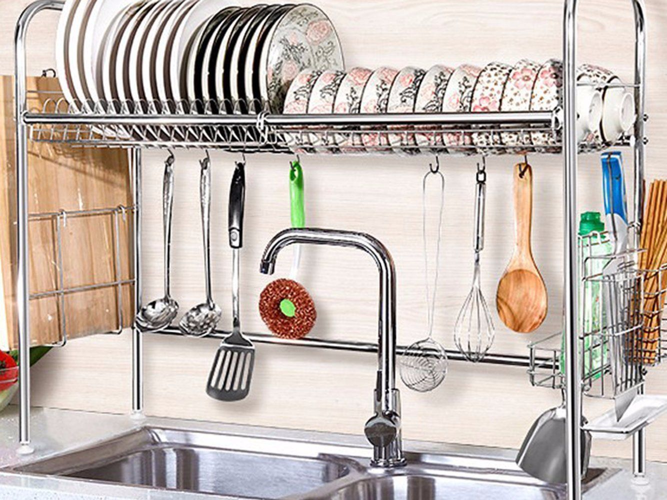 the finnish method of cleaning dishes that s perfect for small kitchens dish rack drying dish on kitchen organization dishes id=20330