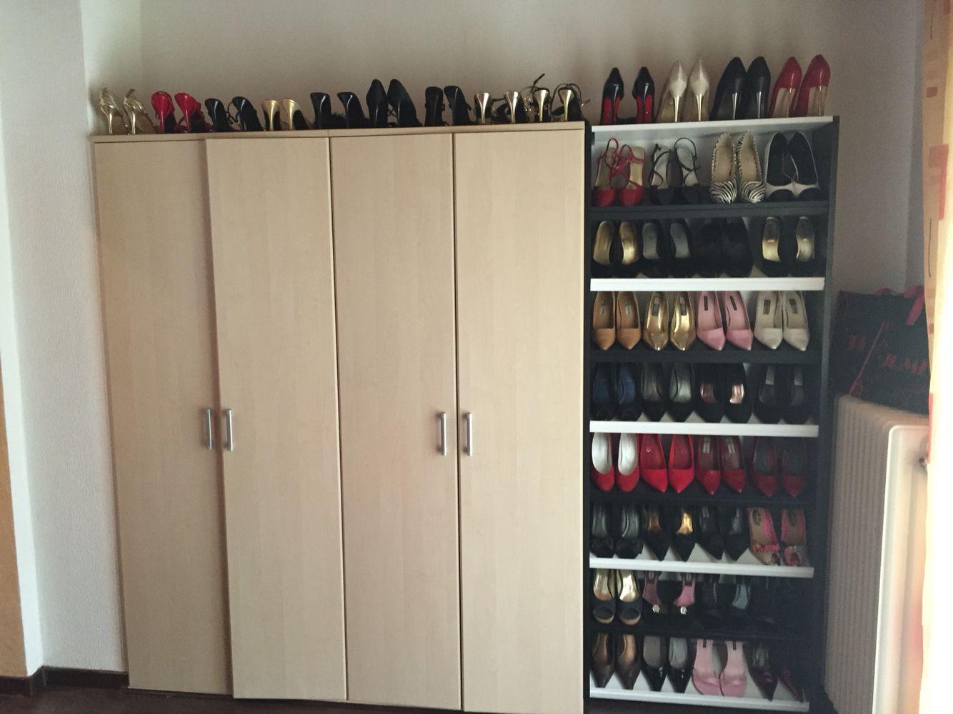 Schuhe dürfen auch nicht fehlen