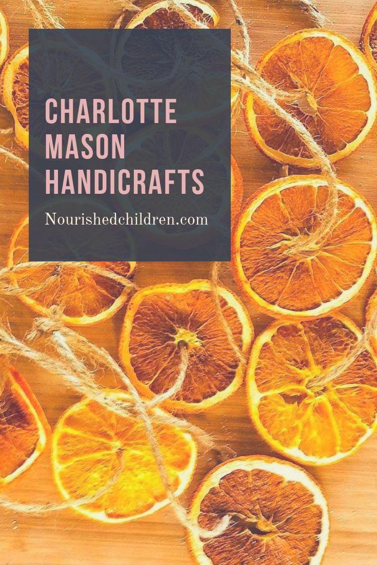 A Charlotte Mason Handicrafts Lesson -