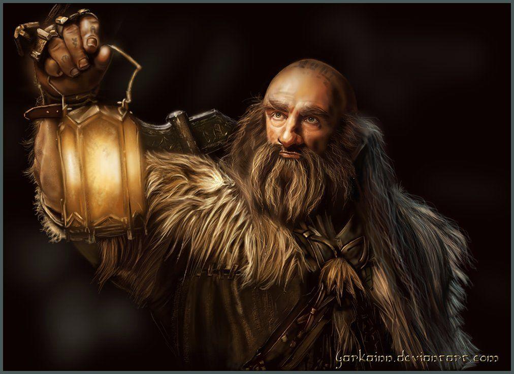 Dwalin De Nick Linnik El Senor De Los Anillos Viejitos Tolkien