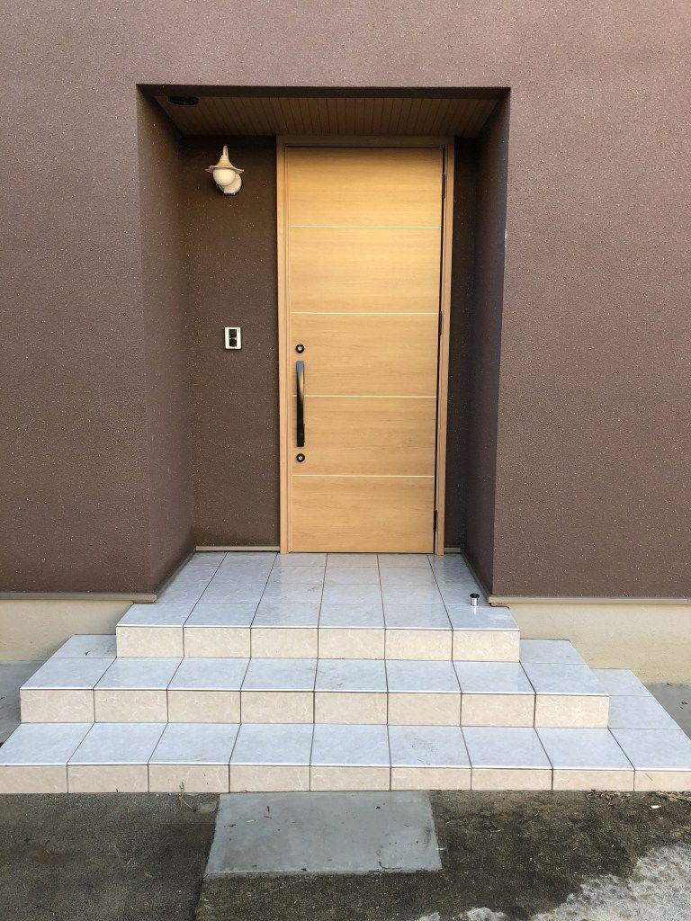 入居前web内覧会 玄関編 20代が建てる住友林業のモダンな平屋 玄関