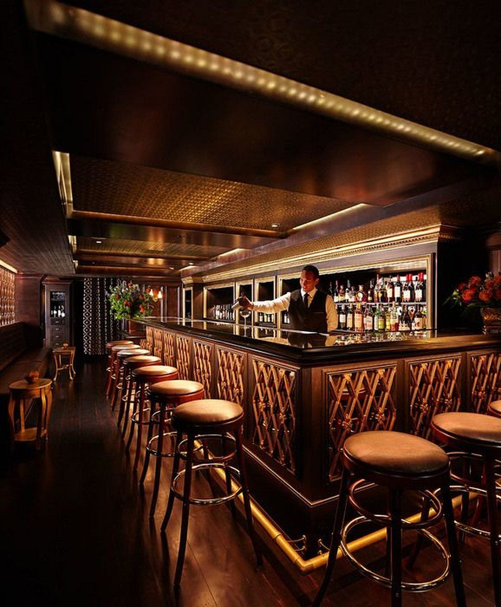 Restaurant Bar Interior Design: Bar Design Restaurant Lounge 2