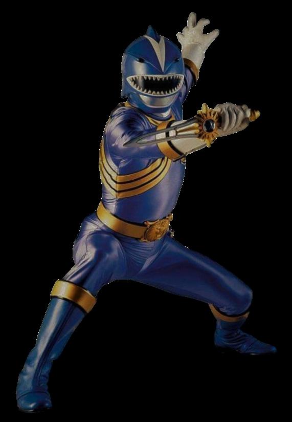 Wild Force Blue Ranger Transparent! by CamoFlauge