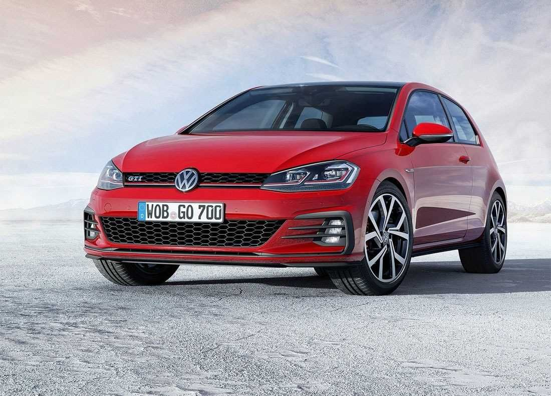 New Volkswagen Golf 2018 2019 Serious Restyling Of The Golf