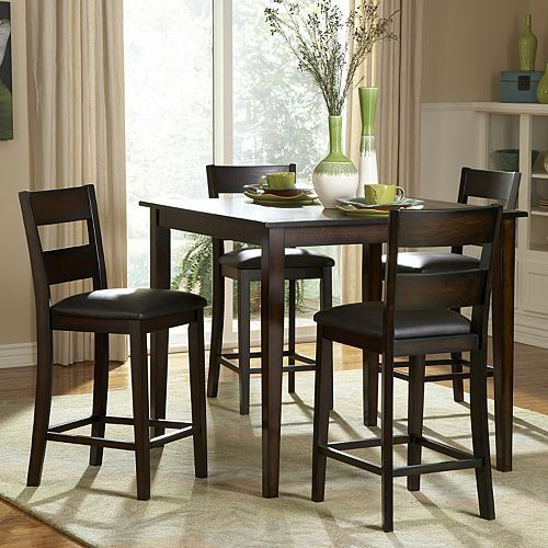 Homevance Cape Cod 5 Pc Dining Table Chair Set Home Style