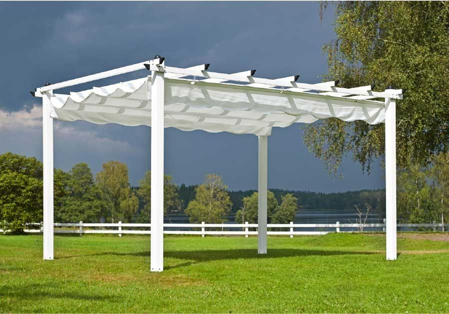 partytelte og pavilloner pergola pavillon 3x4 meter dream garden garten pavillon garten. Black Bedroom Furniture Sets. Home Design Ideas