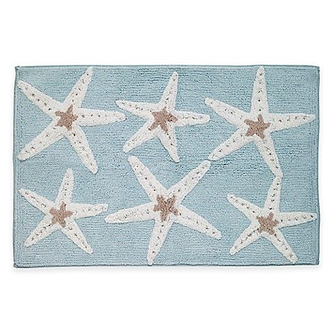Avanti Sequin Shells Bath Rug With Images Shell Rug