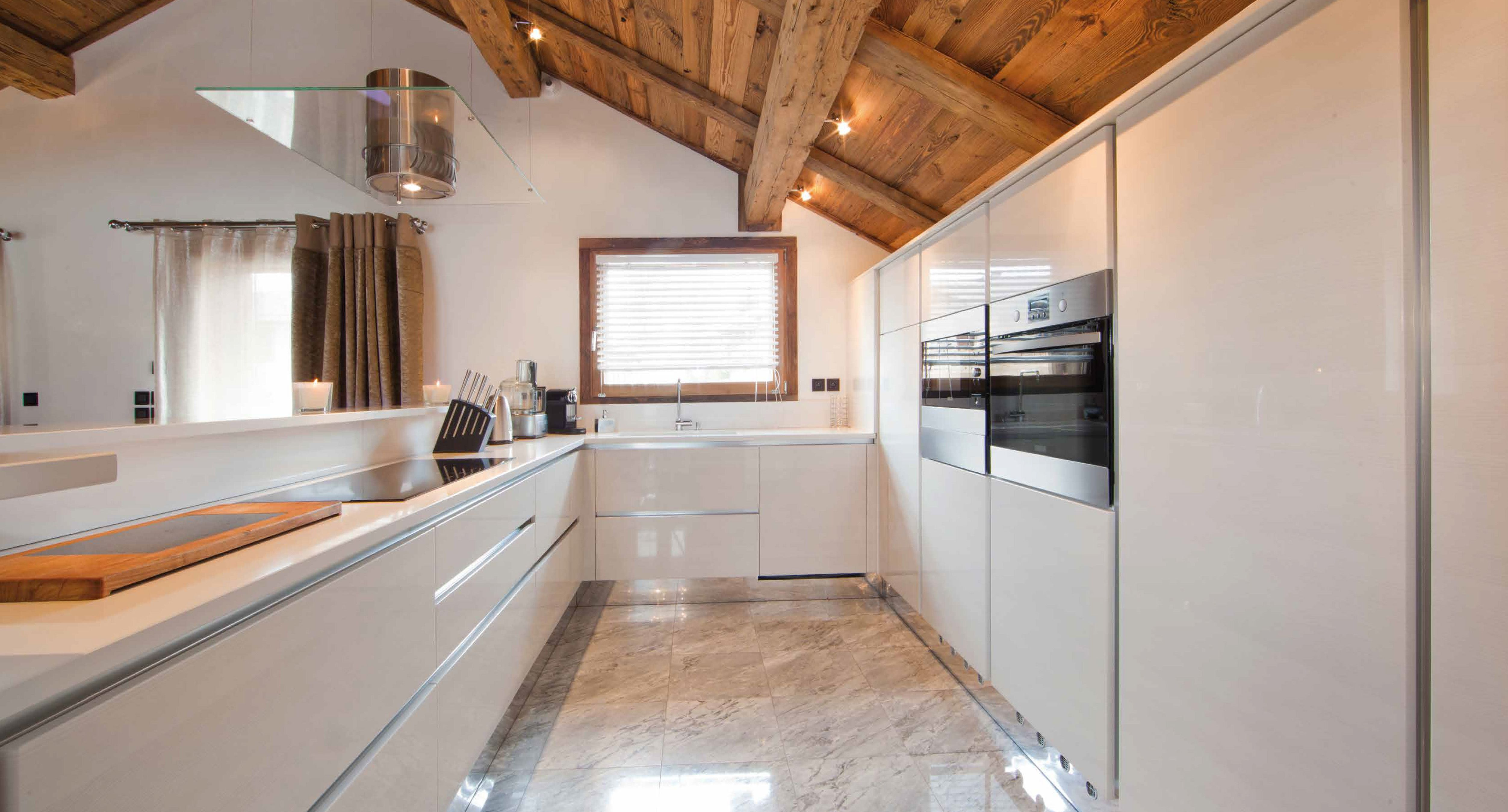 kitchen -chalet -megeve -ikhome -ikone -cuisine -chalet luxe ...