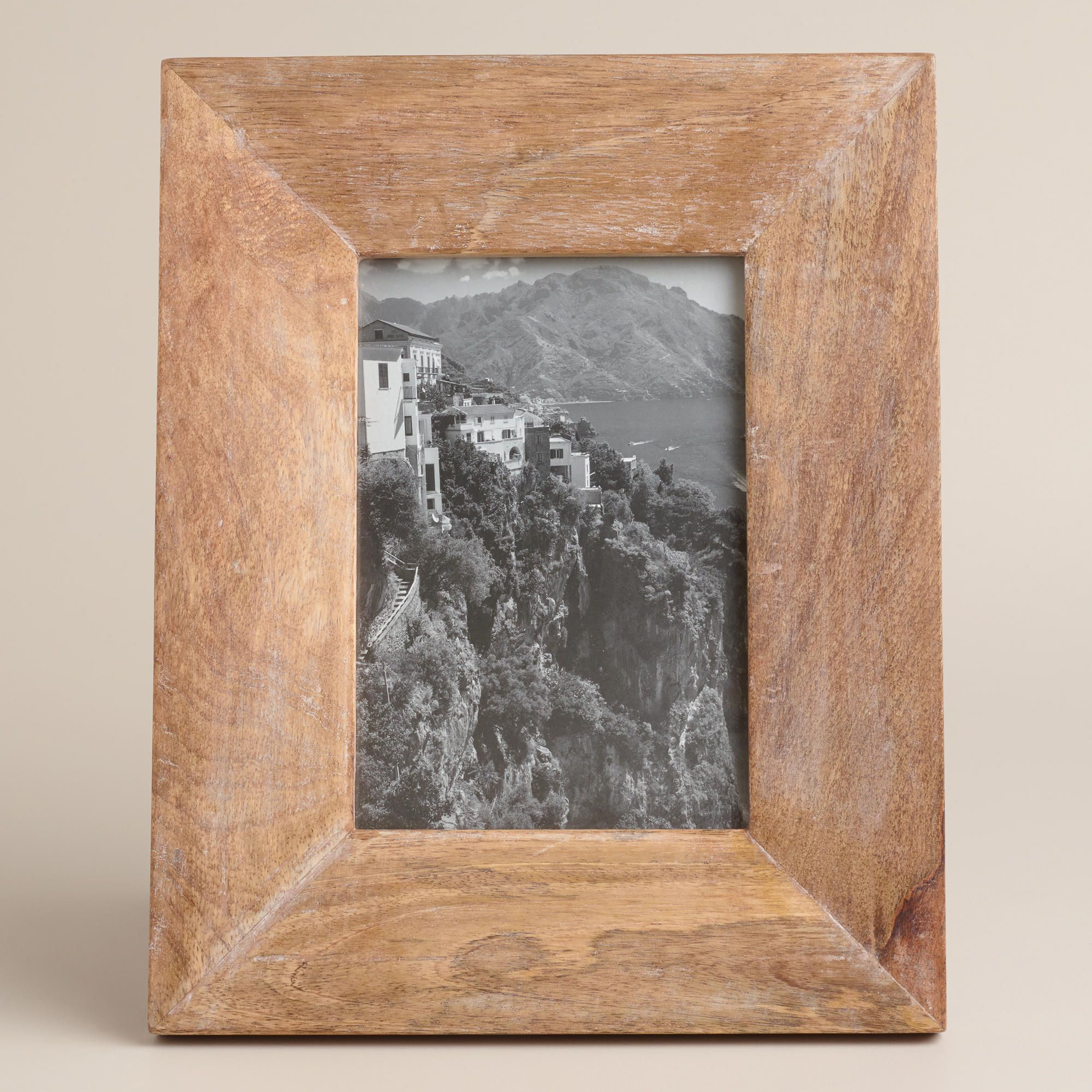 Natural Evan Wood Frame World Market Decor Items