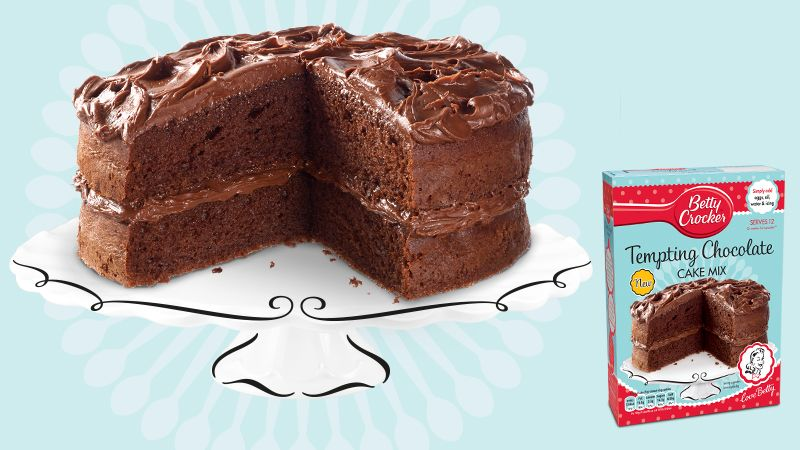 Tempting Chocolate Cake Mix Recipe With Images Betty Crocker