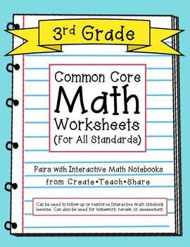 Worksheets 3rd Grade Math Common Core Worksheets multiplication worksheets grade 4 1000 images about camp on pinterest common core math grade