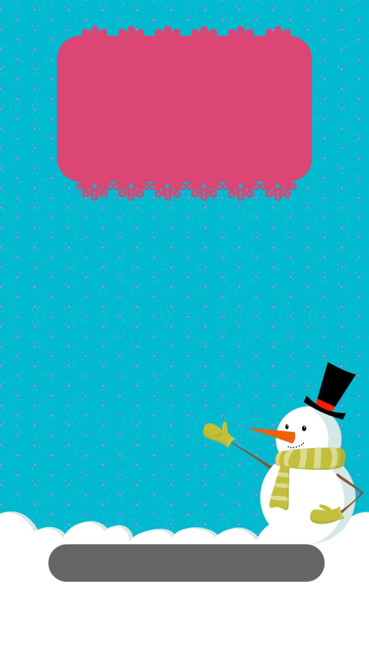 Tap and get the free app lockscreens art creative snowman tap and get the free app lockscreens art creative snowman winter pink blue wallpaper voltagebd Choice Image