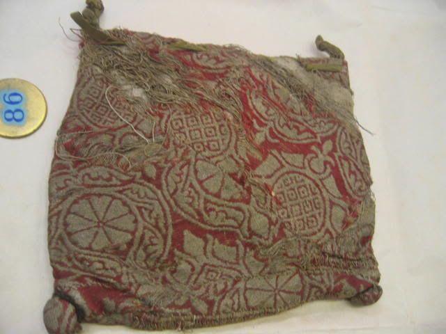 8'' Empire Ochre Cotton Fabric