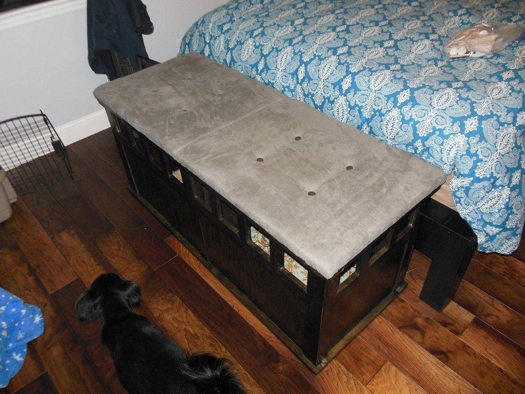 Diy Bedroom Bench Storage Dog Crate Bedroom Bench Bedroom Diy