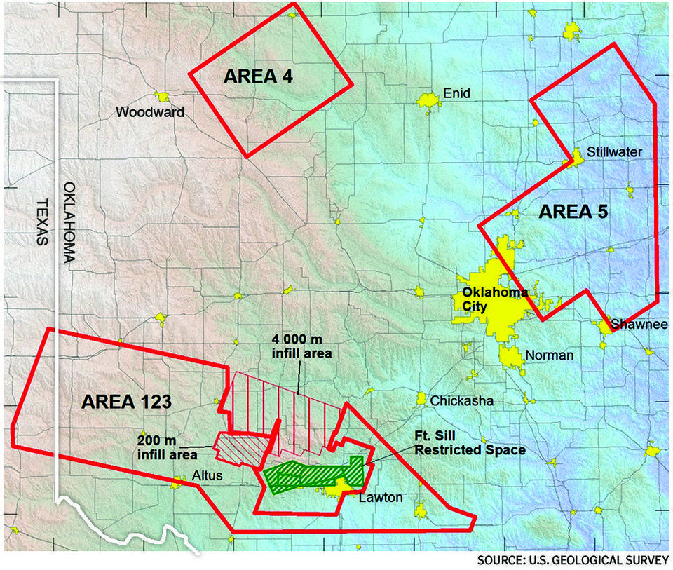 Research Reveals Potential New Faults That Could Be Contributing To Oklahoma S Earthquakes In 2020 Earthquake Oklahoma Earthquake Hazards