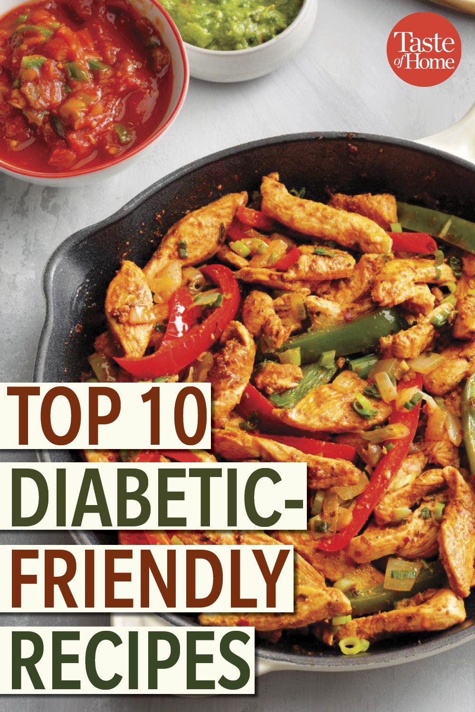 Top 10 Diabetic Friendly Recipes Diabetic Chicken Recipes