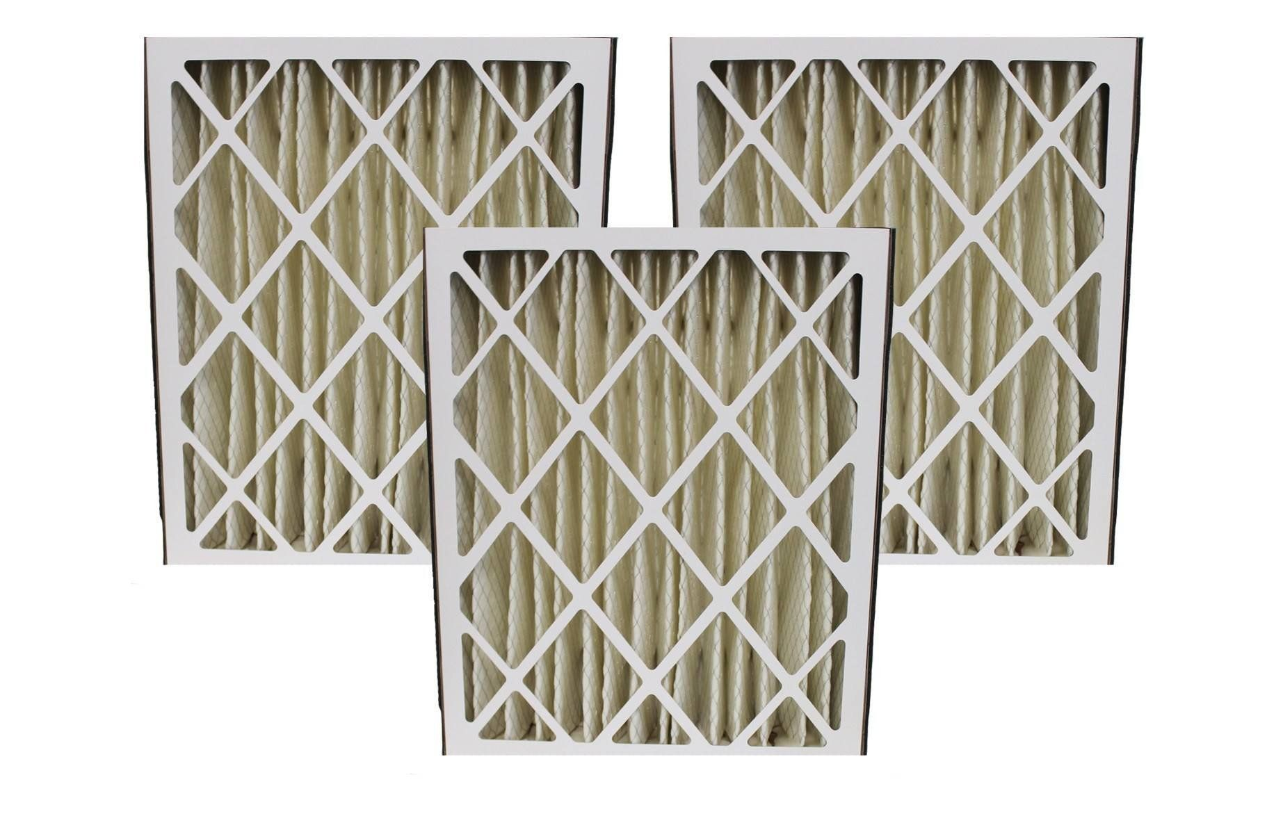 Replacement 20x25x5 MERV8 HVAC Furnace Filter, Fits