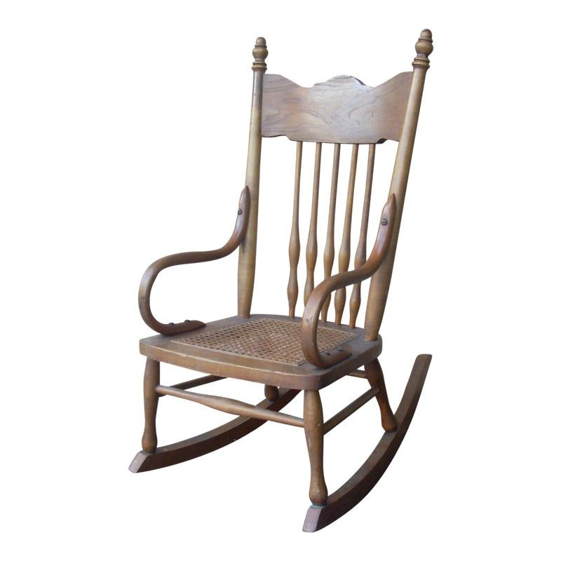 Childs caned rocking chair rocking chair adirondack