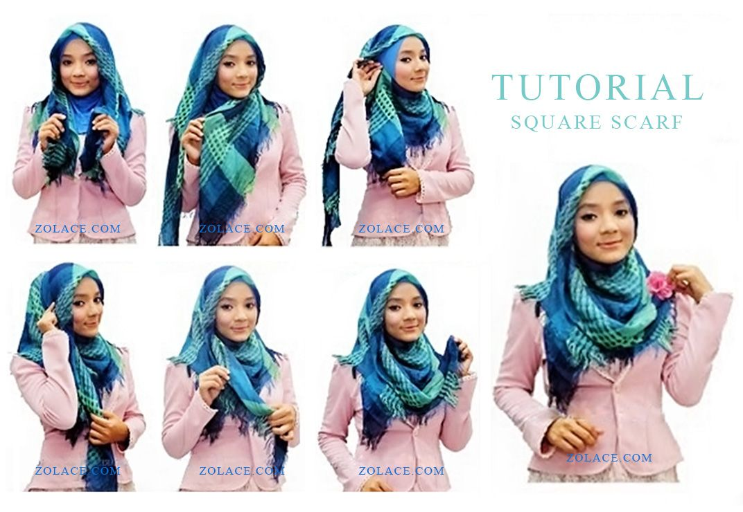 Cara Memakai Tudung Ke Office Dalam Masa Singkat Hijabs Turban