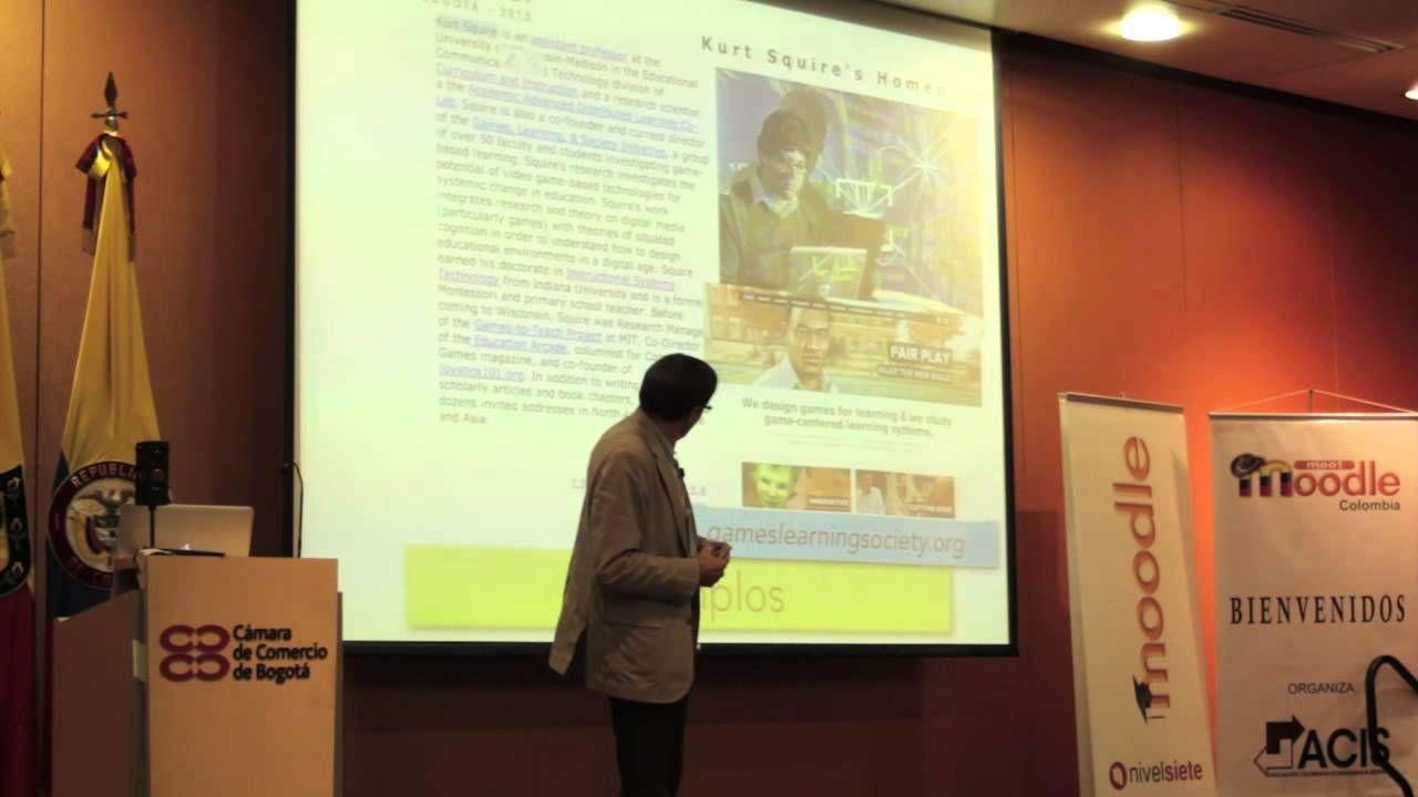 Conferencia sobre la Gamificación: mecánicas y dinámicas para mejorar la motivación de los procesos de aprendizaje.