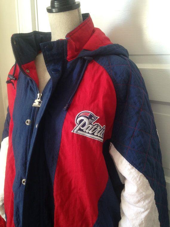brand new 0432d 75019 Vintage Patriots Starter Jacket by 21Vintage on Etsy | 90s ...