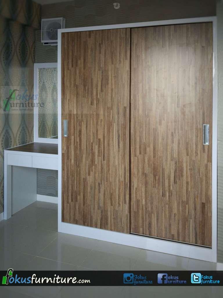 Lemari Pakaian 2 Pintu Untuk Apartemen Mebel Rumah Dan Pintu