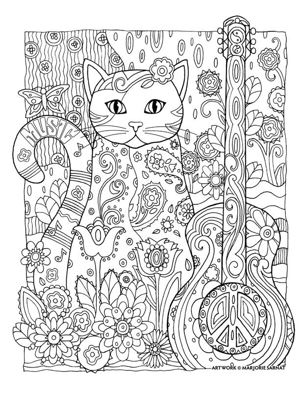 Creative Cats Cat Coloring Book Cat Coloring Page Animal Coloring Pages