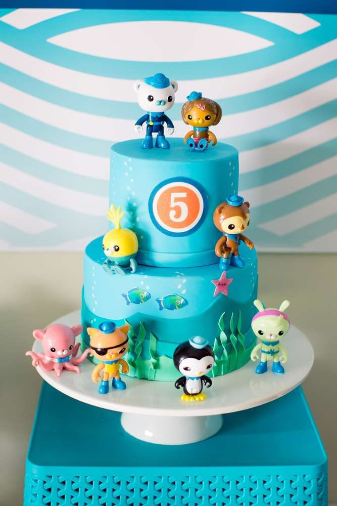 Octonauts Birthday Party Cake See More Ideas At CatchMyParty