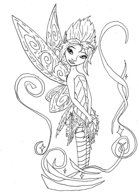 pixie hollow fira coloring pages | Free Printable Fairy Color Sheets Fairy Coloring Pages ...