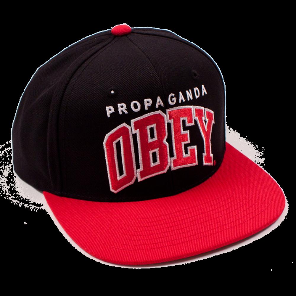 Obey Black Letter Cap Snapback Hat Png Image Obey Cap Cap Baseball Cap