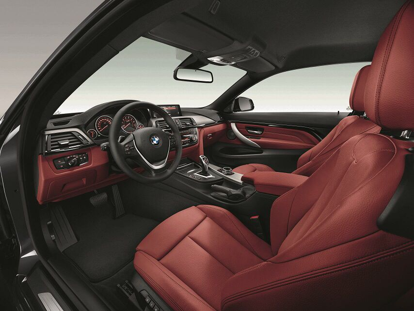 Bmw 435i Red Leather Interior Bmw 4 Series