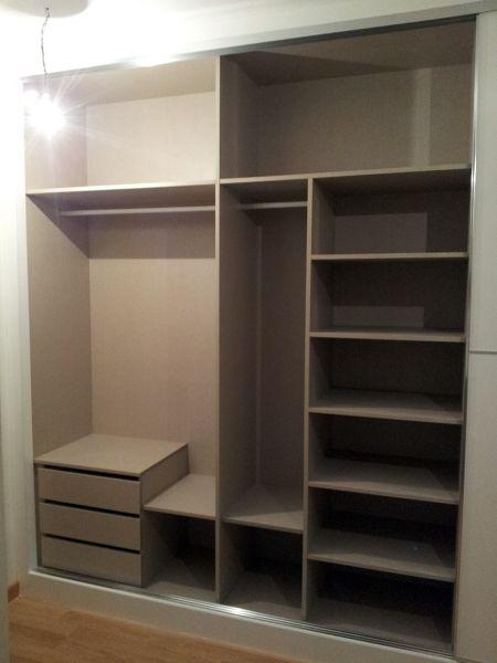 Interior de armario empotrado pinterest placard penderie et garde robe - Armario balcon ...