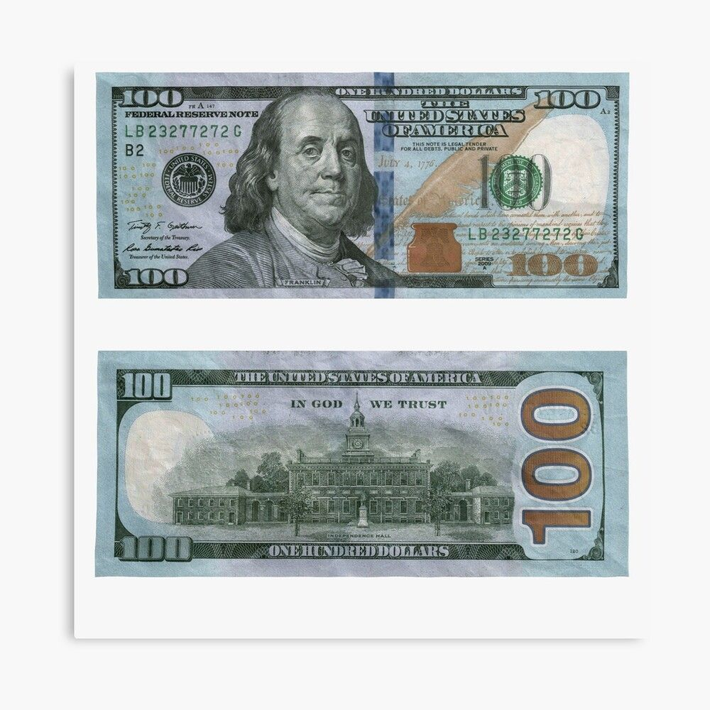 100 Dollar Bill Money Photographic Print By Rocklanone In 2020 100 Dollar Bill Money Template Dollar Bill
