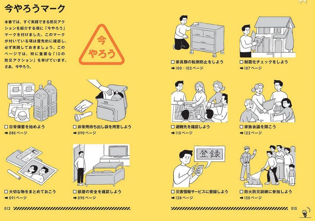 Tokyo Bousai Disaster Prevention Manual Book 2015