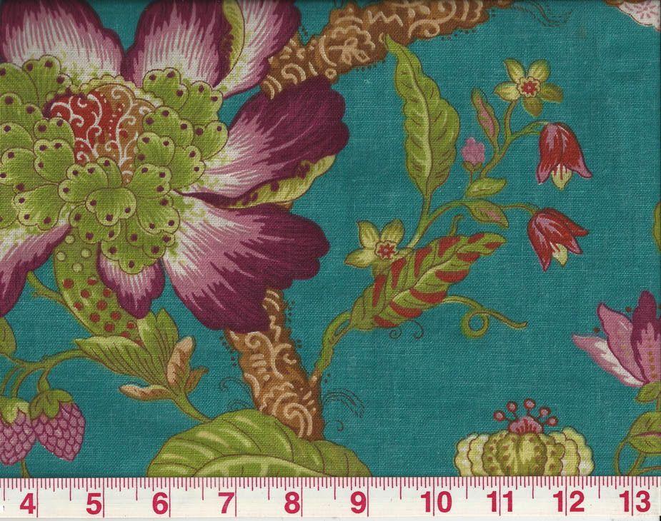 Edinburgh Weavers Blyton Taupe Linen Designer Curtain Blind Upholstery Fabric