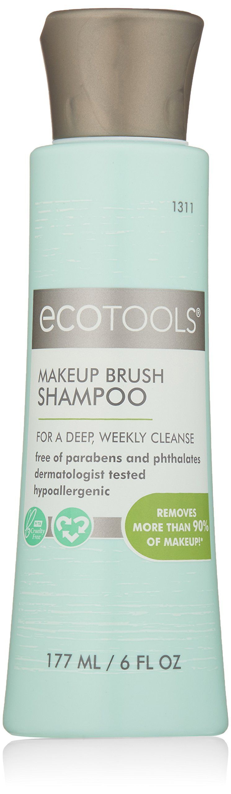 Ecotools Makeup Brush Cleansing Shampoo 6 Ounce